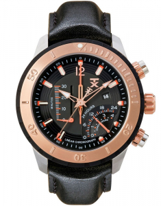 TX 800 Series Linear Chronograph Dual-Time Zone T3C308