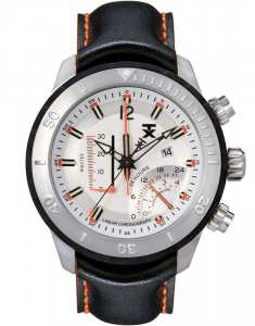 TX 800 Series Linear Chronograph Dual-Time Zone T3C307
