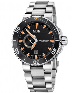 Oris Diving Aquis Small Second, Date 74376734159-0782601PEB