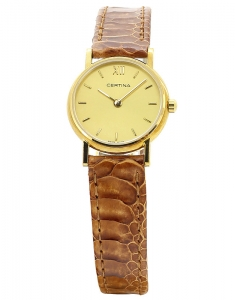 Certina Aska Gold C153.9115.65.36