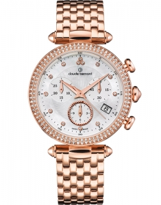 Claude Bernard Dress Code Chronograph 10230 37RM NAR