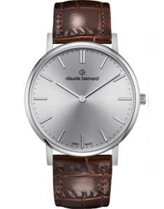 Claude Bernard Slim Line Two Hands 20214 3 AIN