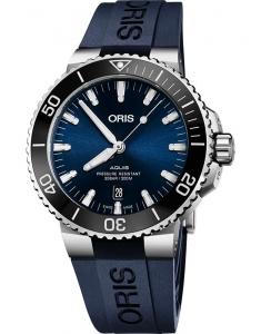 Oris Diving Aquis Date 73377304135-0742465EB