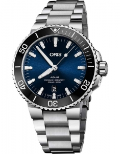 Oris Diving Aquis Date 73377304135-0782405PEB