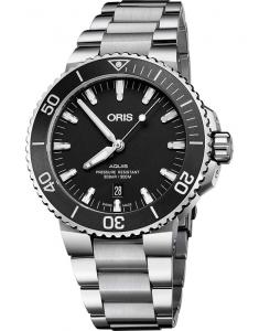 Oris Diving Aquis Date 73377304154-0782405PEB