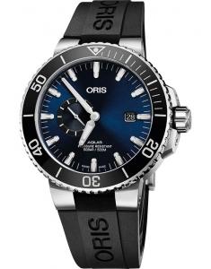 Oris Diving Aquis Small Second 74377334135-0742464EB