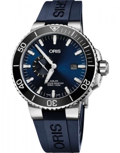 Oris Diving Aquis Small Second 74377334135-0742465EB