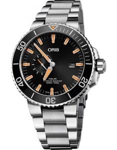 Oris Diving Aquis Small Second 74377334159-0782405PEB