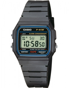 Casio Collection F-91W-1YER