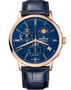 Edox Les Bemonts Style and Elegance 01651 37R BUIR