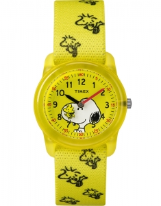 Timex® Peanuts - Snoopy and Woodstock TW2R41500