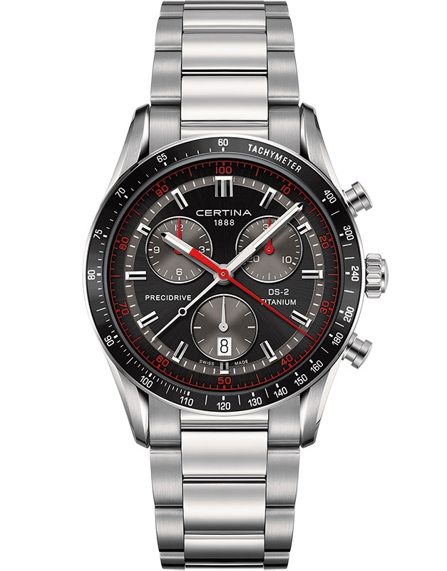 Certina DS 2 Chrono 1/100 sec C024.447.44.051.00