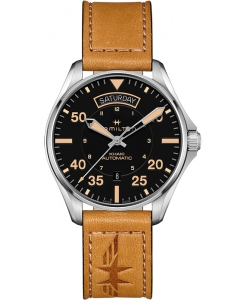 Hamilton Khaki Aviation Khaki Pilot Day Date H64645531
