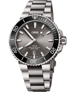 Oris Diving Aquis Titanium Date 73377307153-0782415PEB