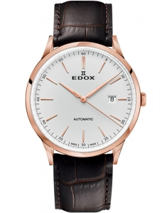 Edox Les Vauberts Automatic Date 80106 37RC AIR1