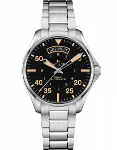Hamilton Khaki Aviation Khaki Pilot Day Date H64645131
