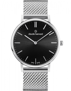 Claude Bernard Slim Line Two Hands 20219 3M NIN