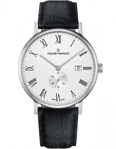 Claude Bermard Slim Line Small Second 65004 3 BR1