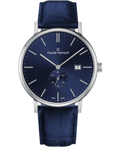 Claude Bermard Slim Line Small Second 65004 3 BUIN1