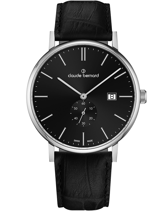 Claude Bermard Slim Line Small Second 65004 3 NIN1