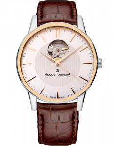 Claude Bermard Classic Automatic Open Heart 85017 357R AIR