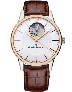 Claude Bermard Classic Automatic Open Heart 85018 357R AIR