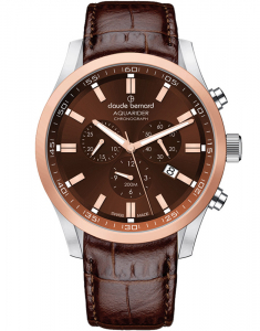 Claude Bernard Aquarider Chronograph 10222 357RC1 BRIR1