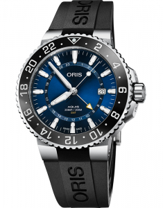 Oris Diving Aquis GMT Date The Underwater Zone 79877544135-0742464EB