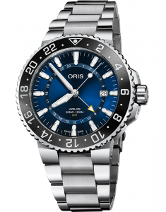Oris Diving Aquis GMT Date The Underwater Zone 79877544135-0782405PEB