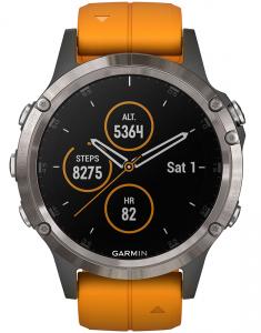 Garmin Fēnix® 5 Plus Sapphire Titanium 010-01988-05