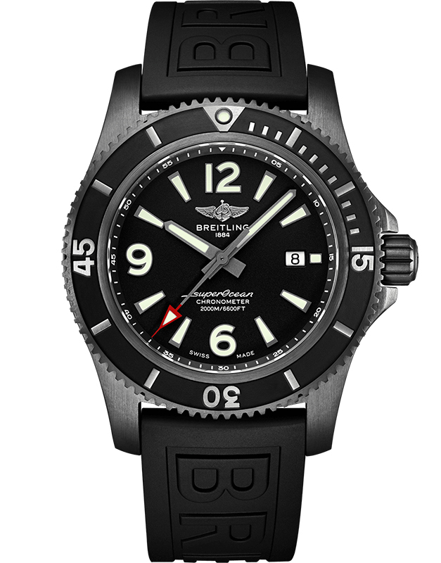 Breitling Superocean Automatic Black Steel M17368B71B1S1