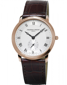 Frederique Constant Slimline Gents Small Second FC-235M4S4