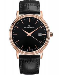 Claude Bernard Classic Date 53009 37R NIR