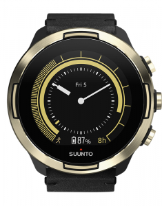 Suunto 9 Baro Gold Leather set SS050256000