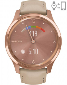 Garmin Vívomove® Luxe rose Gold Light Sand 010-02241-21