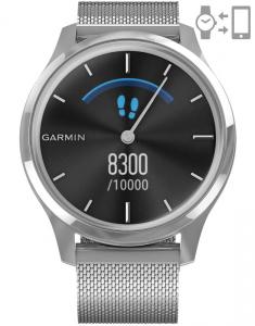 Garmin Vívomove® Luxe Silver Milanese 010-02241-23