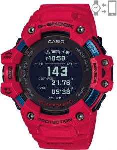 Casio G-Shock G-Squad Smart Watch Heart Rate Monitor GBD-H1000-4ER