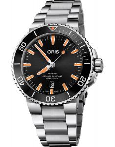 Oris Diving Aquis Date 73377304159-0782405PEB