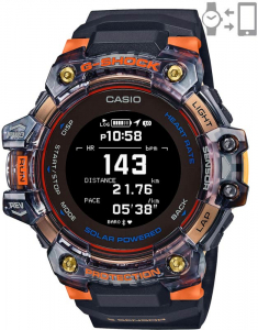 G-Shock G-Squad Smart Watch Heart Rate Monitor GBD-H1000-1A4ER