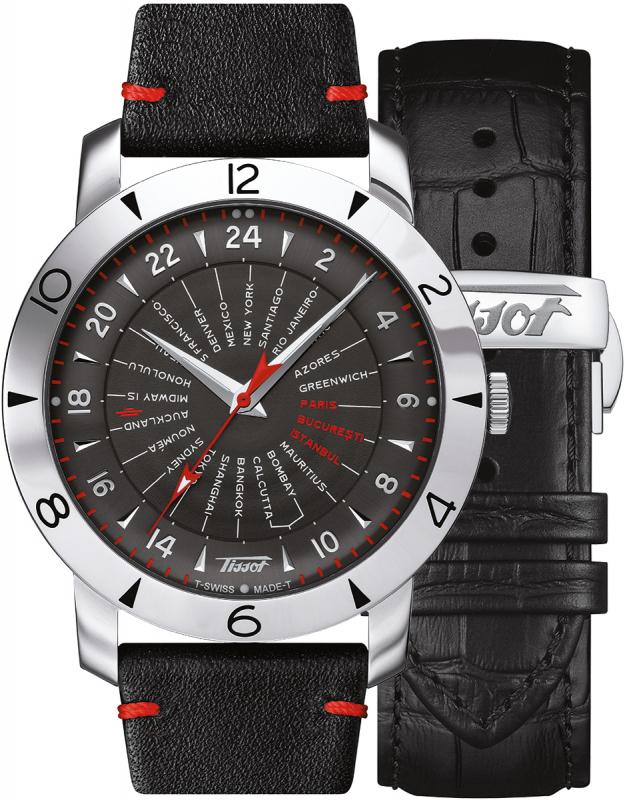 Tissot HERITAGE NAVIGATOR T078.641.16.057.02 Sageata Orientului Cronometru Certificat