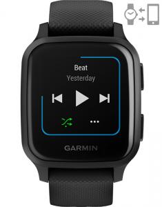 Garmin Venu® Sq – Music Edition Black Slate 010-02426-10