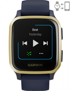 Garmin Venu® Sq – Music Edition Captain Blue Light Gold 010-02426-12