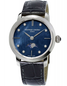Frederique Constant Slimline Ladies Moonphase FC-206MPND1S6