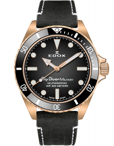 Edox SkyDiver Spirit of the 70s Limited Edition 80115 BRZN NDR