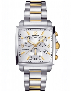 Certina DS Podium Lady Square Chrono C001.317.22.037.00