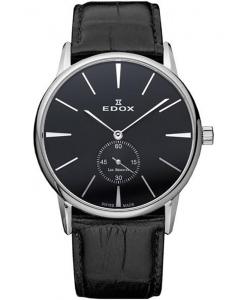 Edox Les Bemonts Ultra Slim Hand Winding 72014 3 NIN