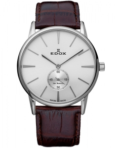 Edox Les Bemonts Ultra Slim Hand Winding 72014 3 AIN
