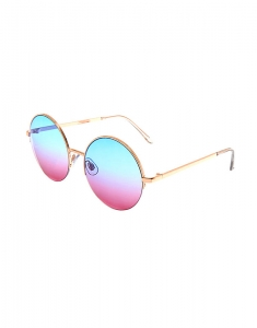 Claire's Blue Tinted Round Sunglasses 51625