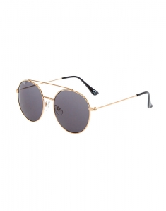 Claire's Gold-Tone & Black Aviator Sunglasses 79103