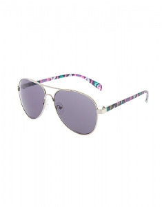 Claire's Purple Aztec Aviator Sunglasses 79083